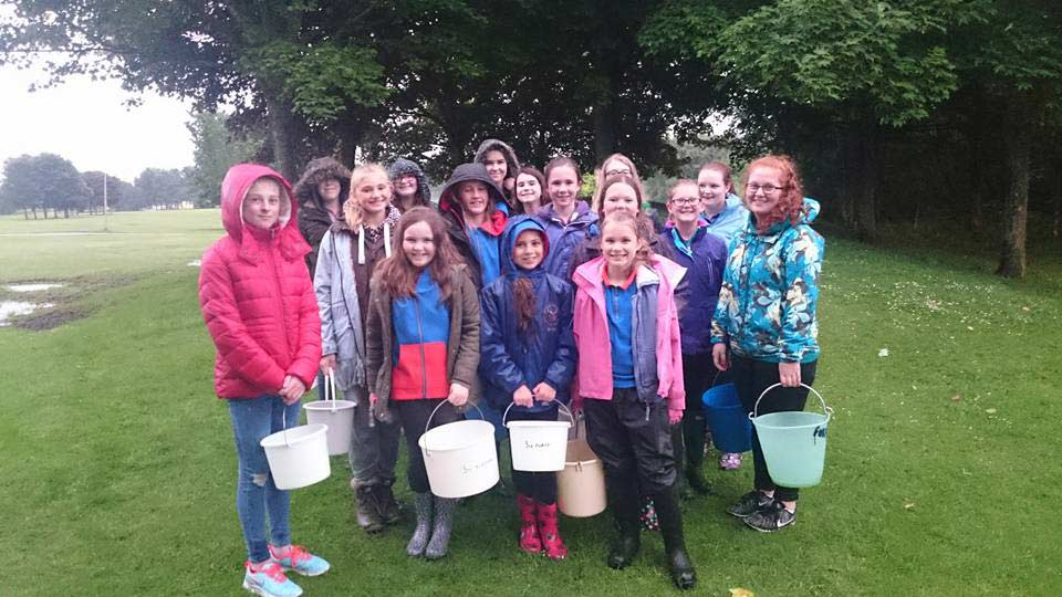 Guides sponsored walk